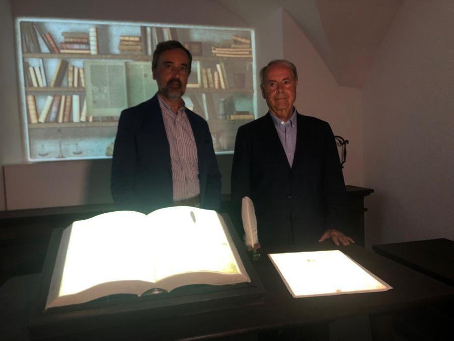 Carlo Vecce e Paolo Galluzzi