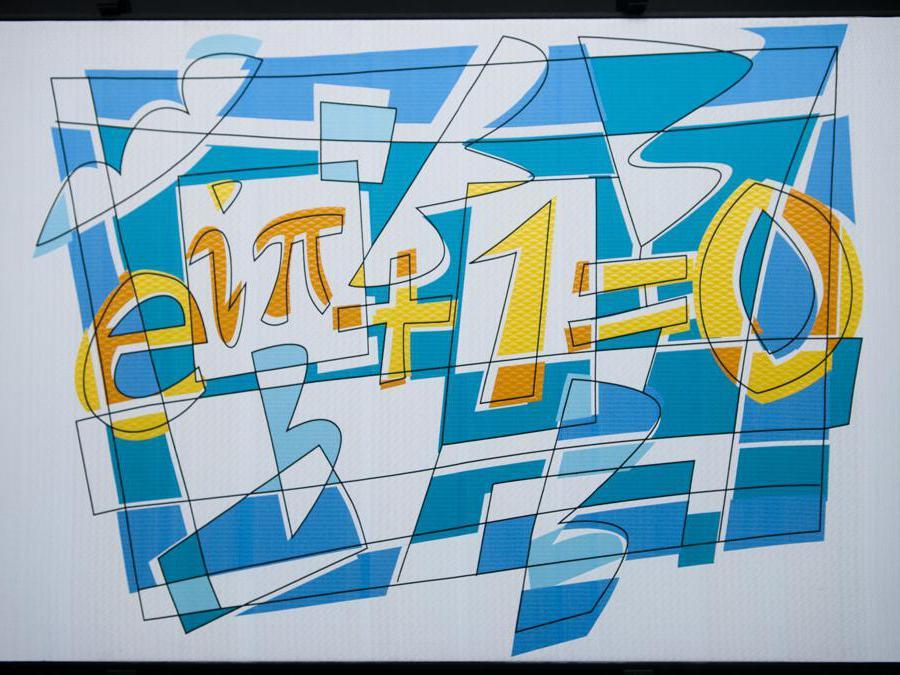 THE MOST BEAUTIFUL THEOREM, 2017, Arazzo, 105 x 153 x 5,5 cm