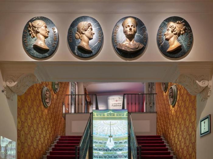 """Mostra """"La magnifica fabbrica – 240 anni del Teatro alla Scala da Piermarini a Botta"""""""