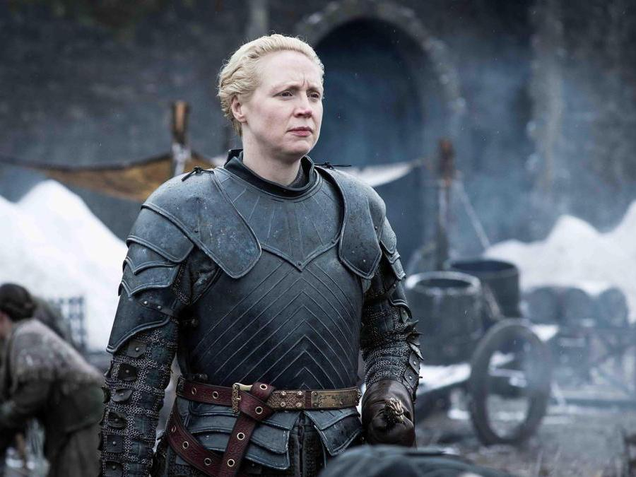 La guerriera Brienne di Tarth (Ansa)