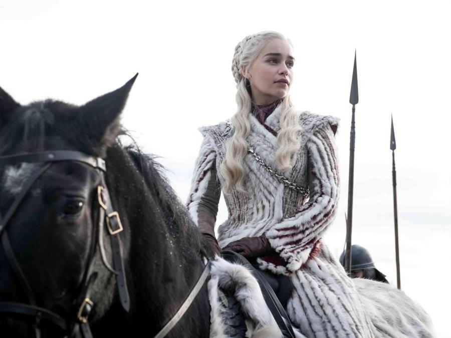 La regina dei draghi Daenerys Targaryen. (Ansa)