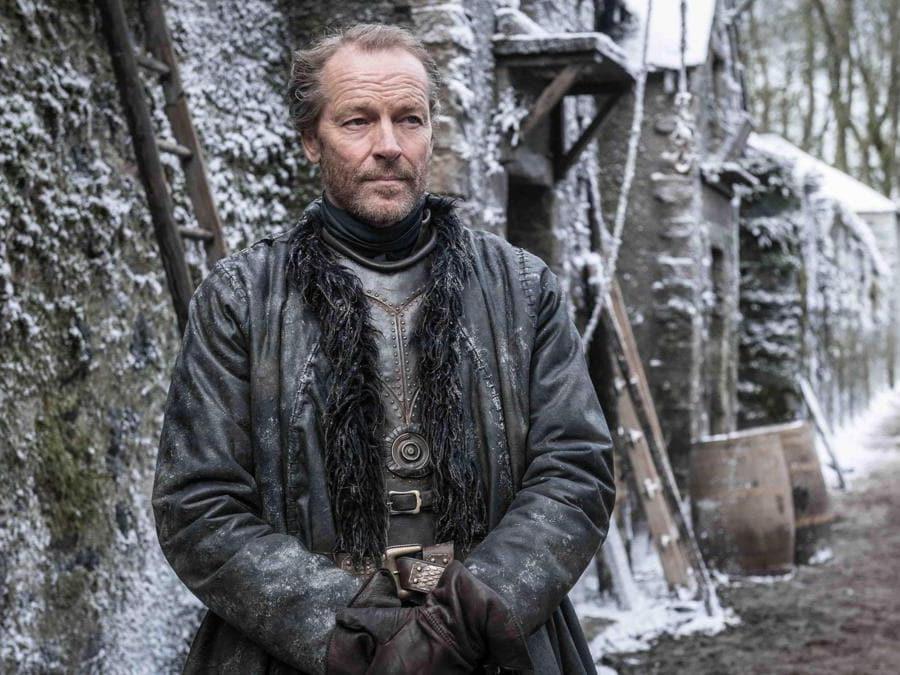 Il cavaliere Jorah Mormont. (Ansa)