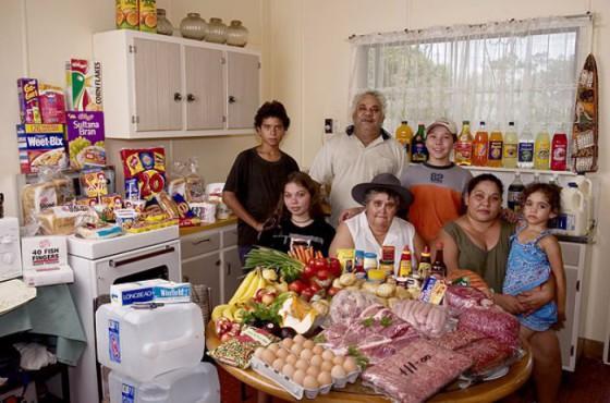 Dall'Australia al Buthan ecco cosa mettiamo nel piatto: viaggio intorno al mondo sulle tavole delle famiglie
