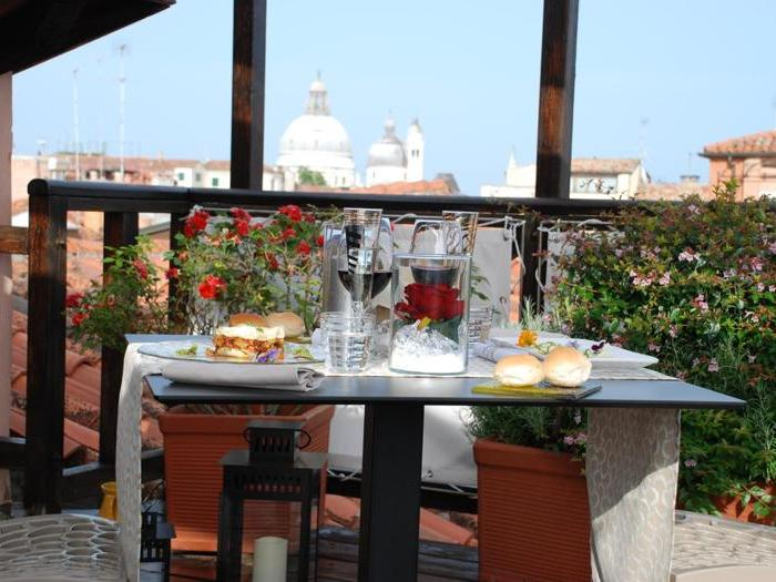 I ristoranti panoramici per chi resta in città