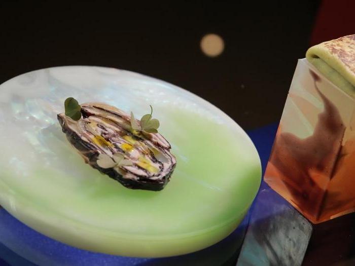 La cena-installazione al ristorante (appena stellato Michelin) della Fondazione Sandretto Re Rebaudengo
