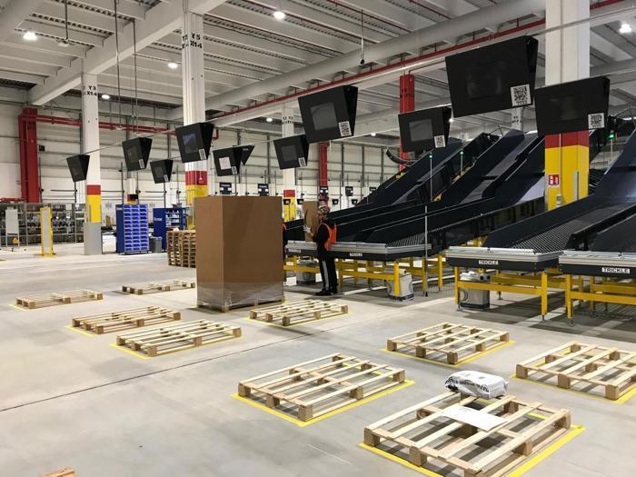 Il nuovo hub di Amazon a Bergamo