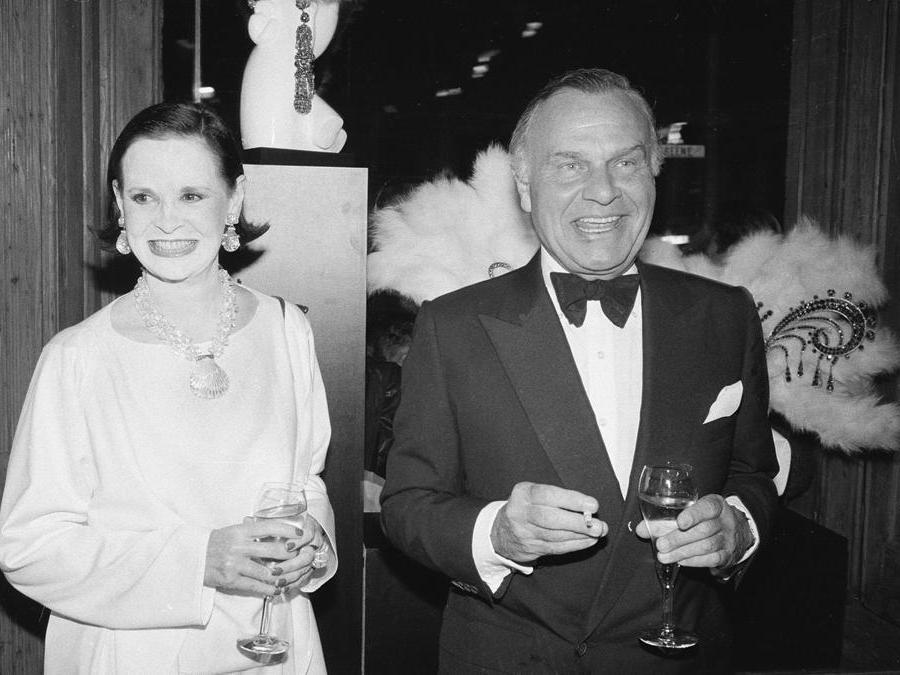 Gloria Vanderbilt e Bill Blassnel 1970 (AP Photo)