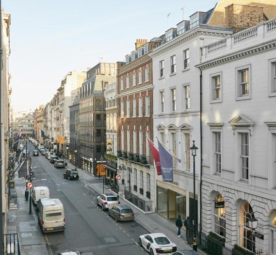 Albemarle Street, il nuovo indirizzo del lusso a Londra