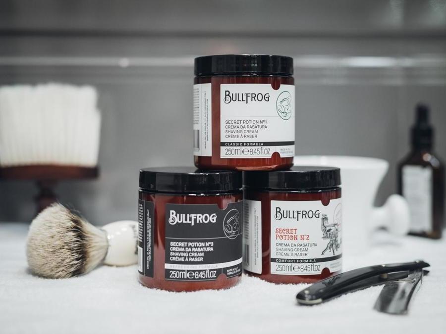 Bullfrog Creme da barba Secret Potion