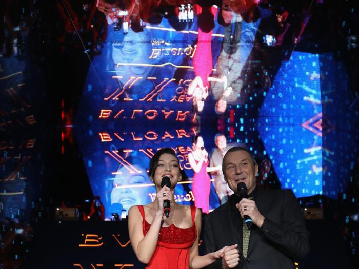 Bulgari celebra i vent'anni di Bzero.1 con un party a Roma