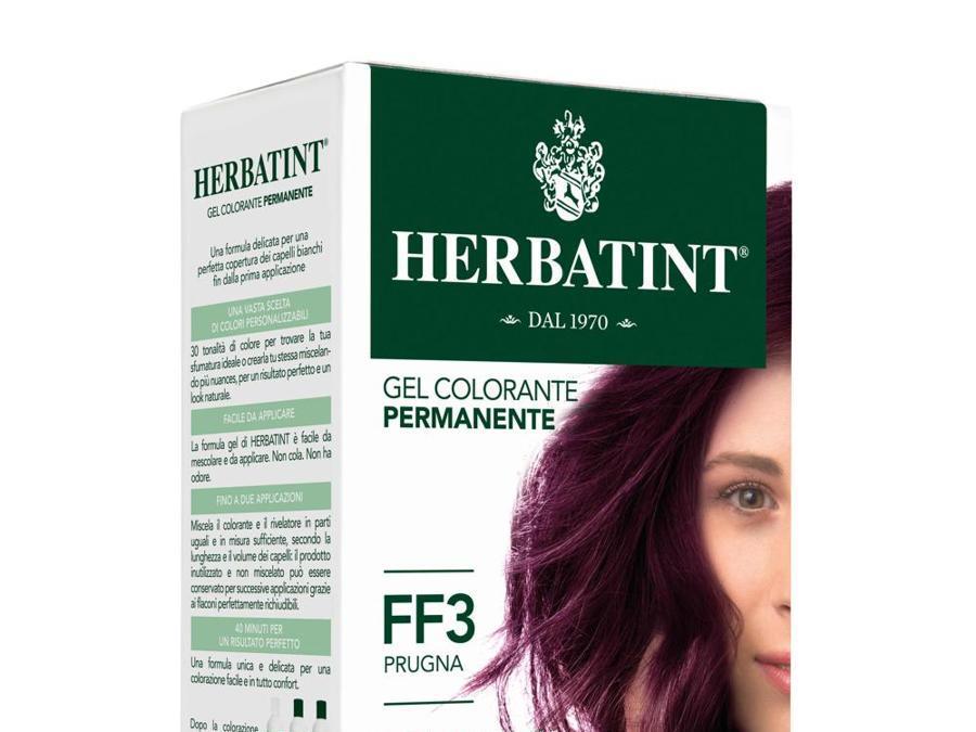 Herbatint Gel Colorante Permanente nella nuance Prugna