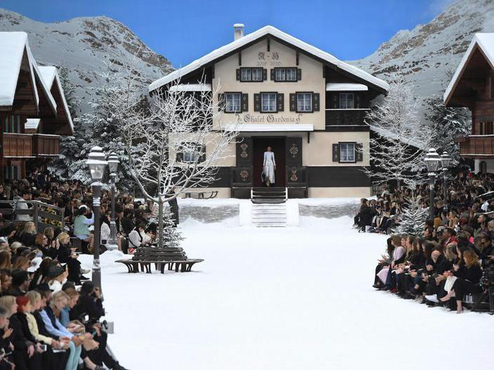 Chanel, nel silenzio della neve l'ultimo addio a Karl Lagerfeld