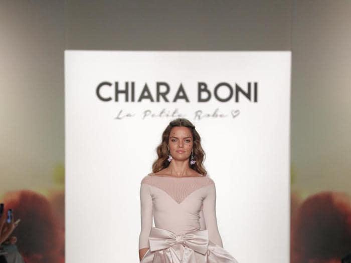 Chiara Boni in vena romantica sulle passerelle di New York