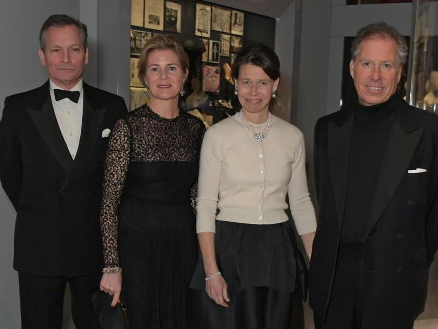 Daniel Chatto, Serena Armstrong-Jones, Contessa di Snowdon, Lady Sarah Chatto e David Armstrong-Jones, Conte di Snowdon (Pic Credit: Dave Benett)