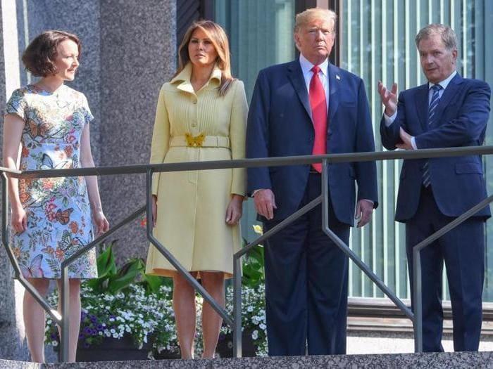 Da Melania a Meghan, estate di lavoro per First lady e duchesse