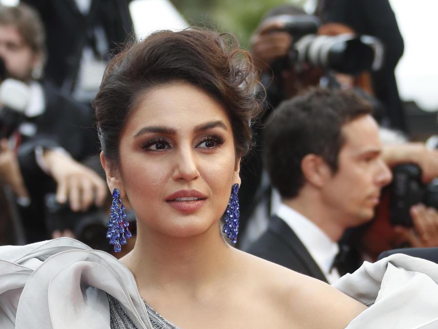 L'attrice indiana, Huma Qureshi.  (Epa/Sebastien Nogier)