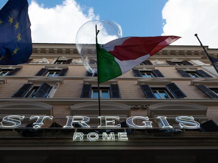 Ecco il nuovo St. Regis Rome, cinque stelle tra glamour e storia