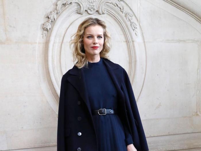 Da Eva a Naomi e Chiara Ferragni (con pancino), parterre di blogger e top model da Dior