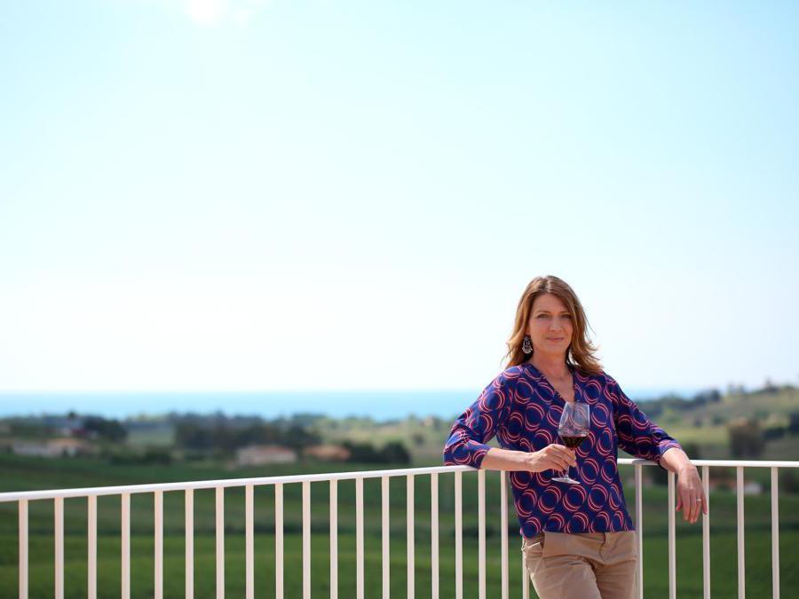 Francesca Planeta, responsabile dell'accoglienza nelle tenute Planeta Estate