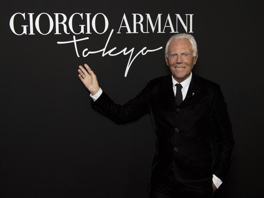 Giorgio Armani (credit SGP)