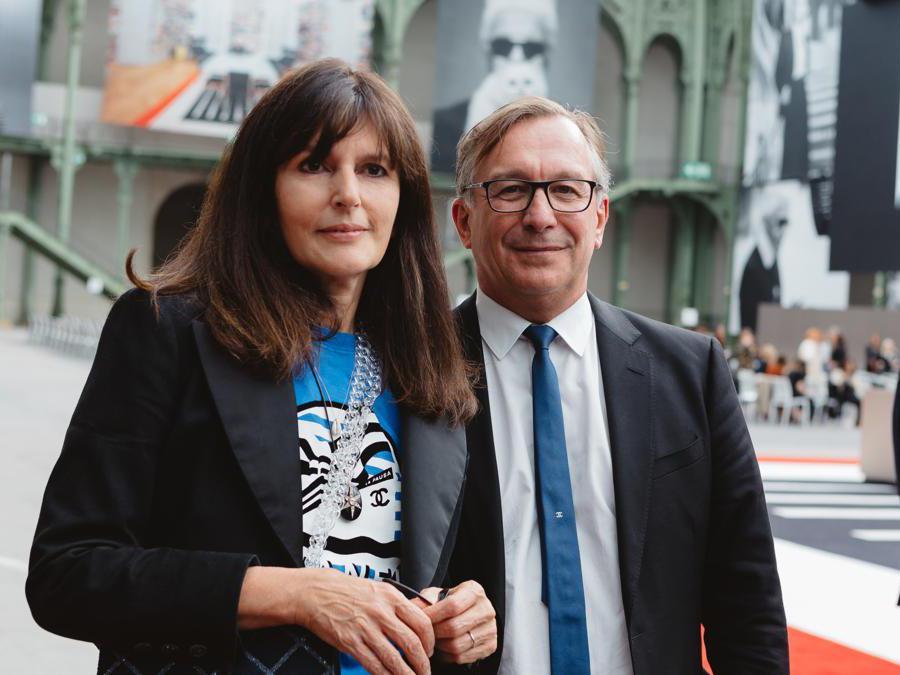 Virginie Viard e Bruno Pavlovsky (foto Alix Marnat )