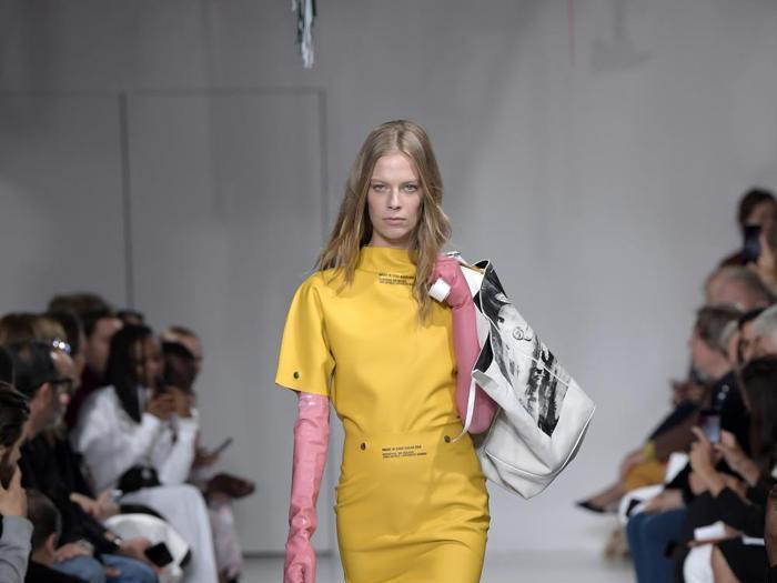 """L'""""American beauty"""" di  Calvin Klein per la PE 2018"""
