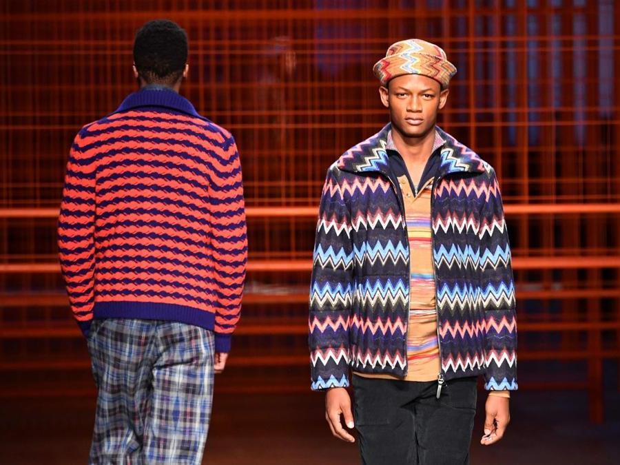 finest selection 93faa 4c82e La collezione Missoni AI 2017-18 in passerella a Milano moda ...