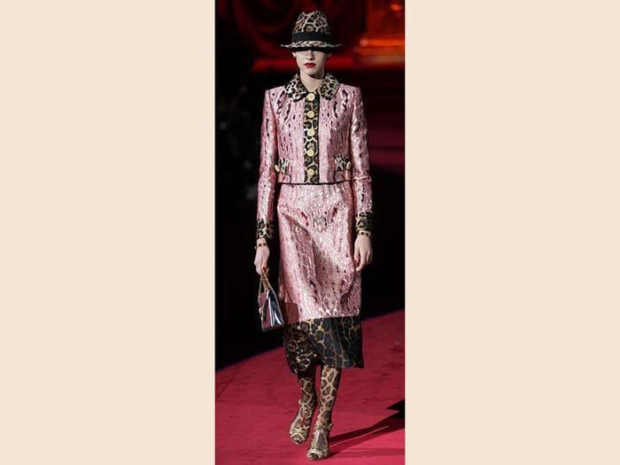 La sfilata Dolce&Gabbana per l'autunno-inverno 2019-20