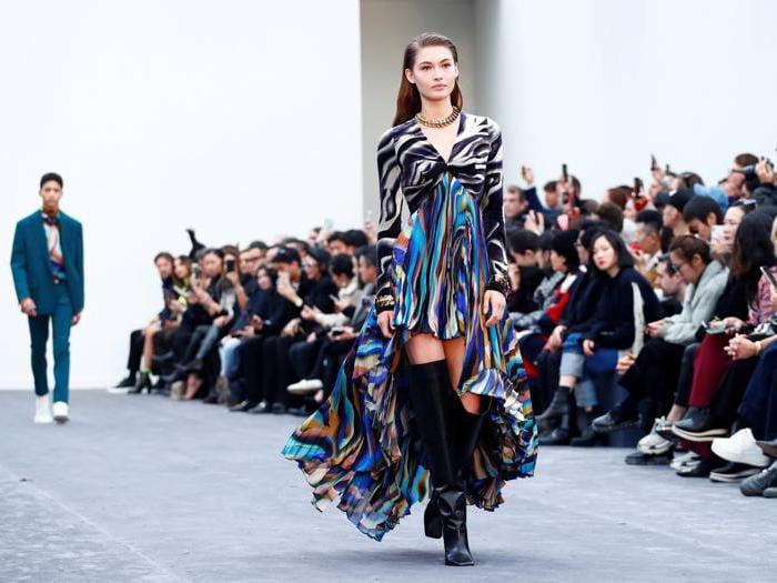 La sfilata Roberto Cavalli  per l'autunno-inverno 2019-20