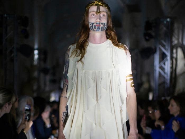 Musei Capitolini suggestivo teatro per la collezione Gucci Cruise 2020