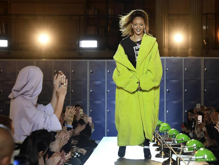 Fenty PUMA by Rihanna 2017. (Photo by ALAIN JOCARD / AFP)