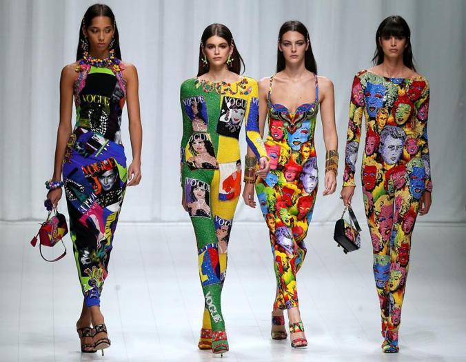 Supermodel a Milano, icone di ieri e di oggi in passerella