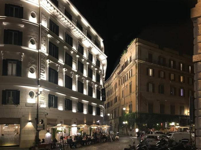 The Pantheon Iconic Rome Hotel, nuovo cinque stelle «con vista»