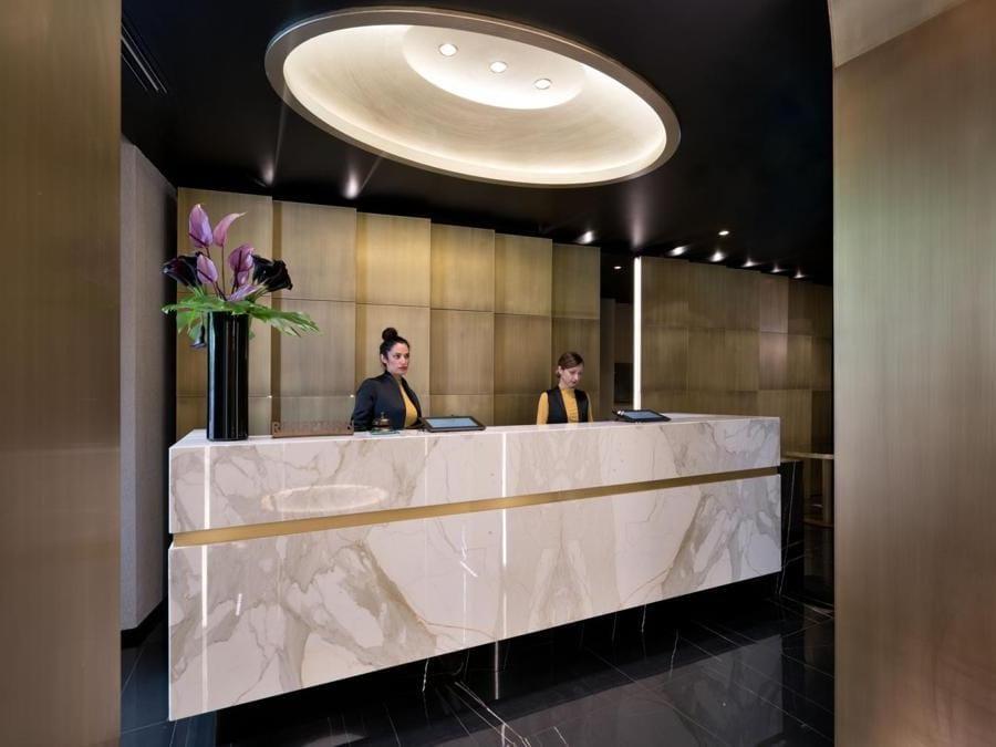 Piano terra, reception
