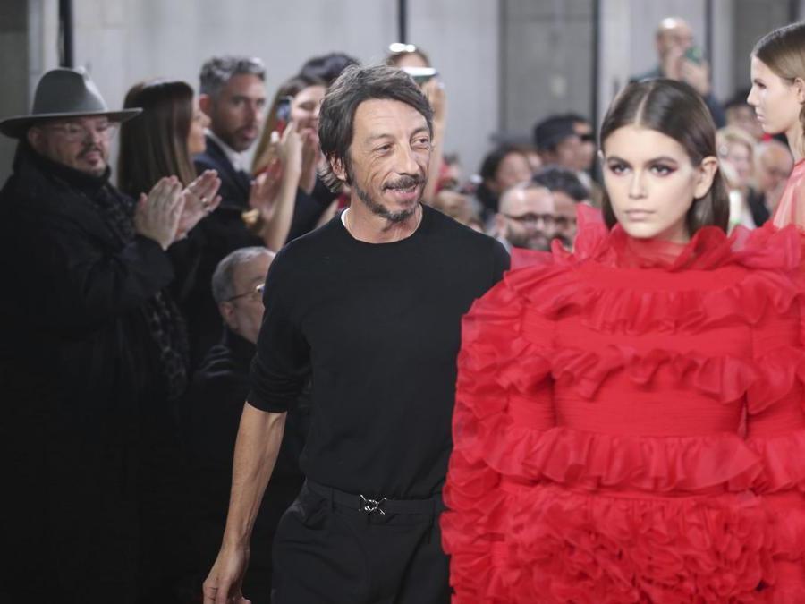 Lo stilista Pierpaolo Piccioli (AP Photo/Koji Sasahara)