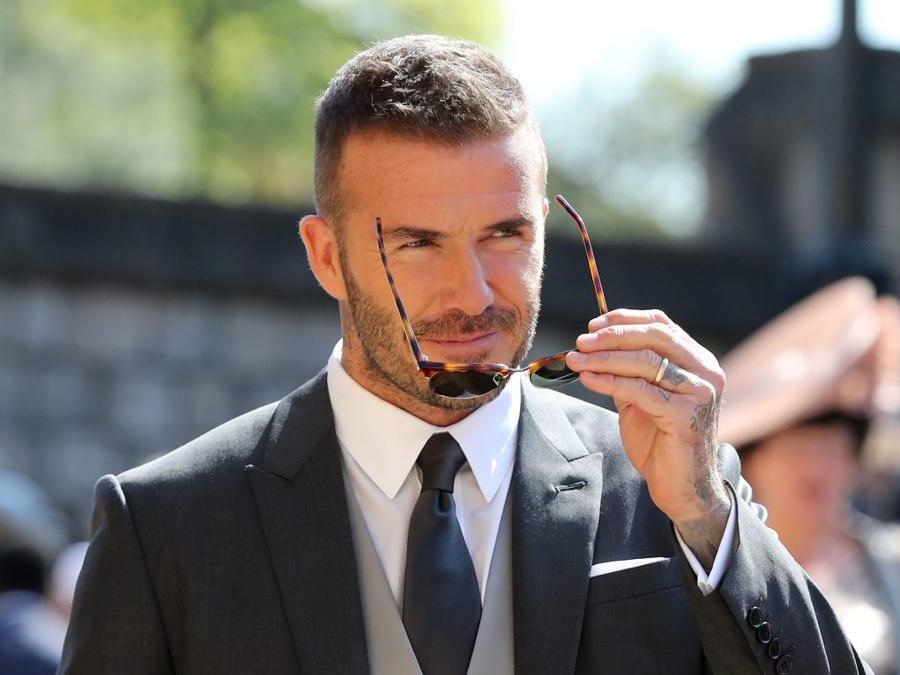 David Beckham al matrimonio William e Kate