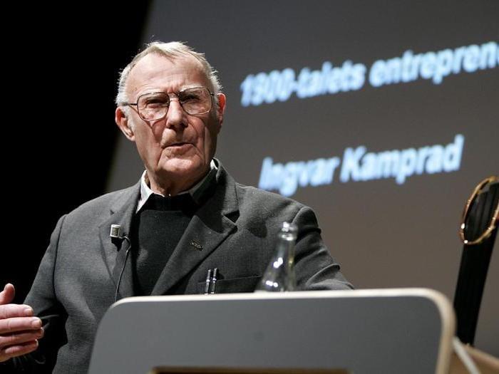 Addio a Ingvar Kamprad, il fondatore di Ikea