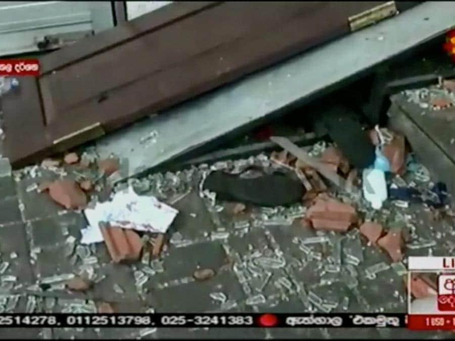 Derana TV/via Reuters