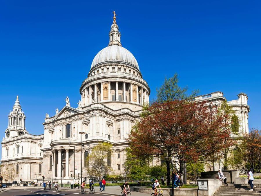 La Cattedrale di  St.Paul's - Londra (Marka)