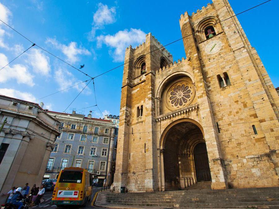 Santa Maria Maior  - Lisbona (Marka)