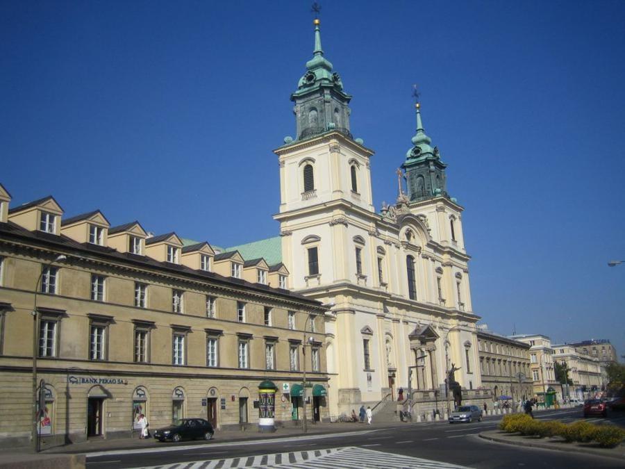 Chiesa di Santa Croce - Varsavia (Polonia)