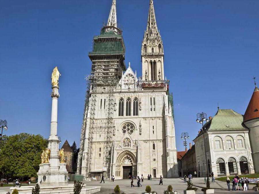 La cattedrale di Zagabria - Croazia (Marka)