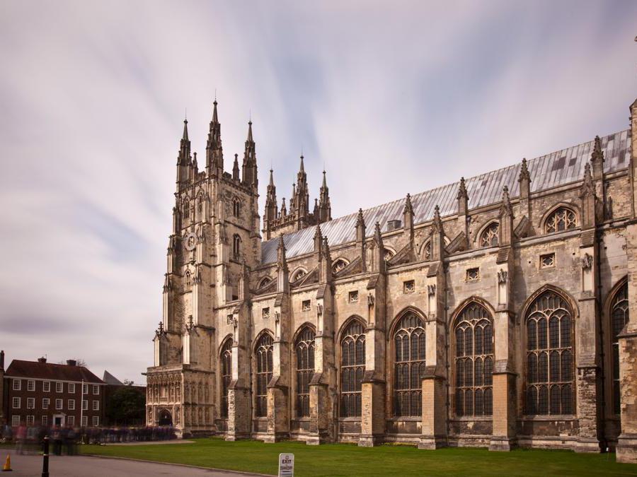 La Cattedrale di Canterbury  - Inghilterra (Marka)