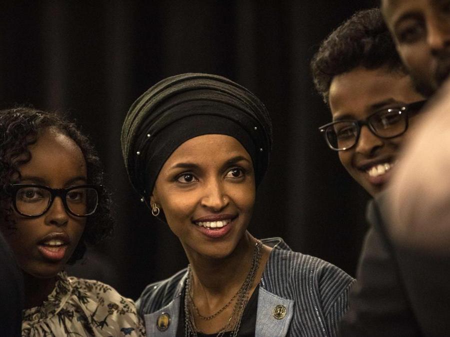 Ilhan Omar, Partito Democratico   (Stephen Maturen/Getty Images/AFP)