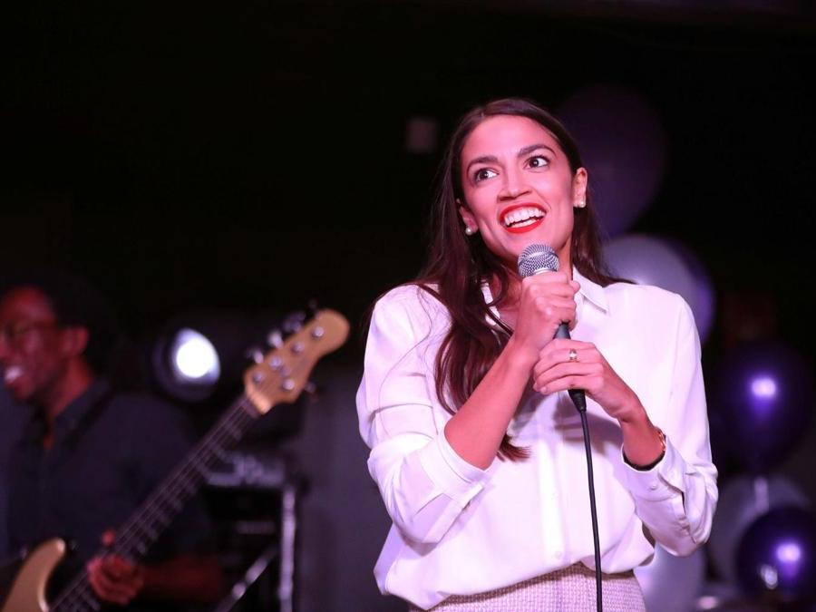 Alexandria Ocasio-Cortez, Partito Democratico  (Rick Loomis/Getty Images/AFP)
