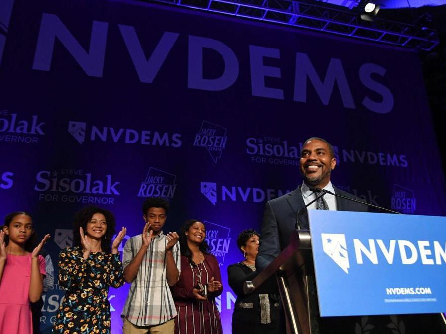 Steven Horsford, Partito Democratico    (Ethan Miller/Getty Images/AFP)