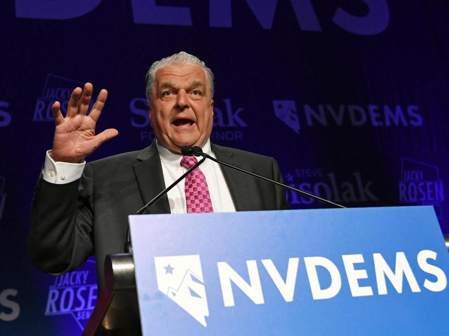 Steve Sisolak, Partito Democratico    (Ethan Miller/Getty Images/AFP)