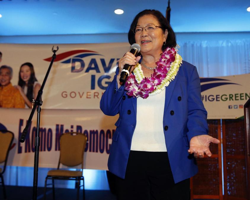 Mazie Hirono, Partito Democratico (AP Photo/Marco Garcia)