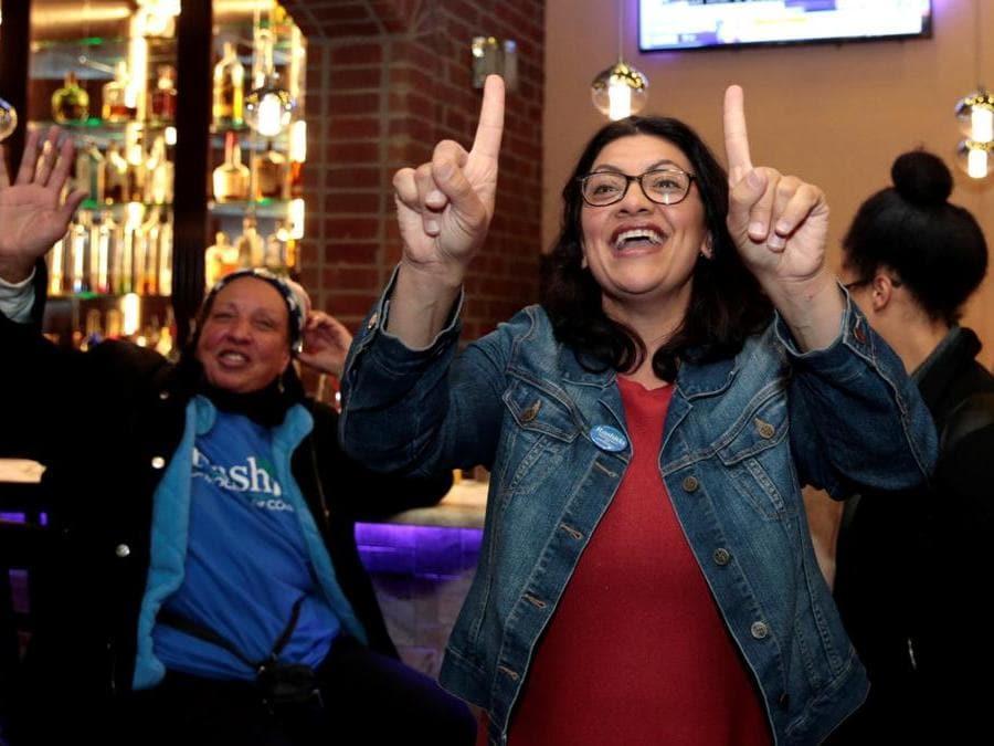 Rashida Tlaib, Partito Democratico (REUTERS/Rebecca Cook)