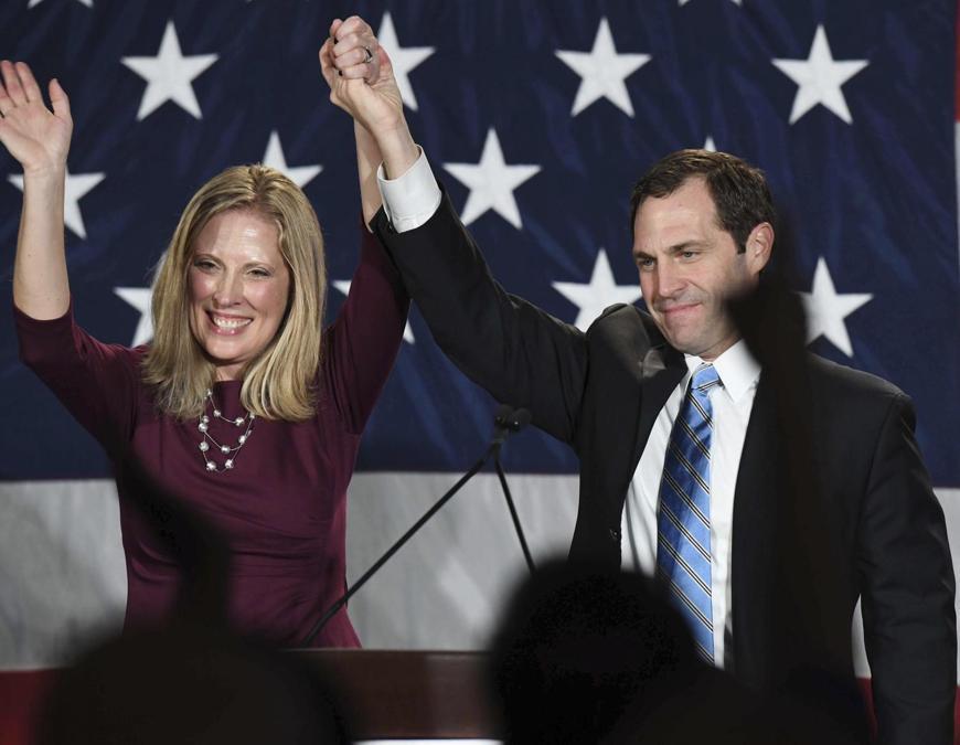 Jason Crow, Partito Repubblicano  (Jerilee Bennett/The Gazette via AP)